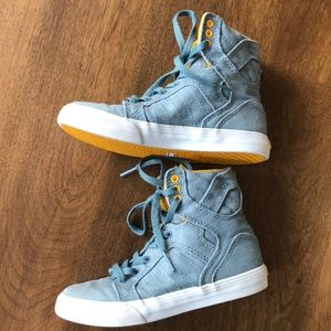 Supra Shoes - Supra boys hightop sneakers 13/31 skytop blue